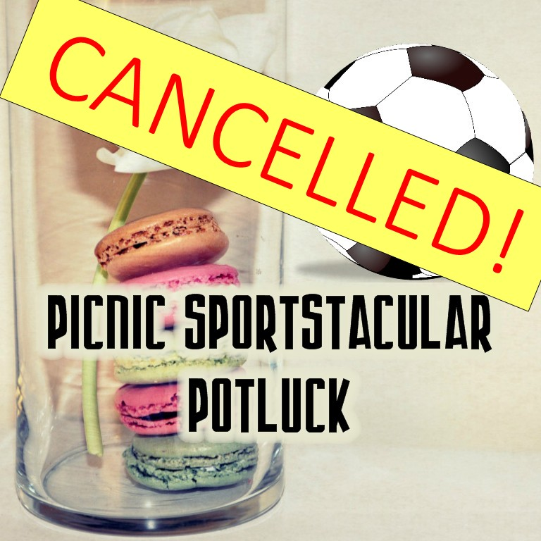 CANCELLED: Picnic Sportstacular Potluck (July 25)