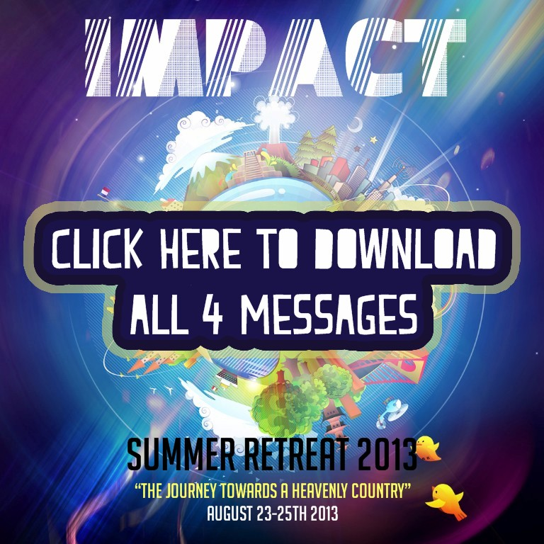 Summer Retreat 2013 Messages Now Online!!