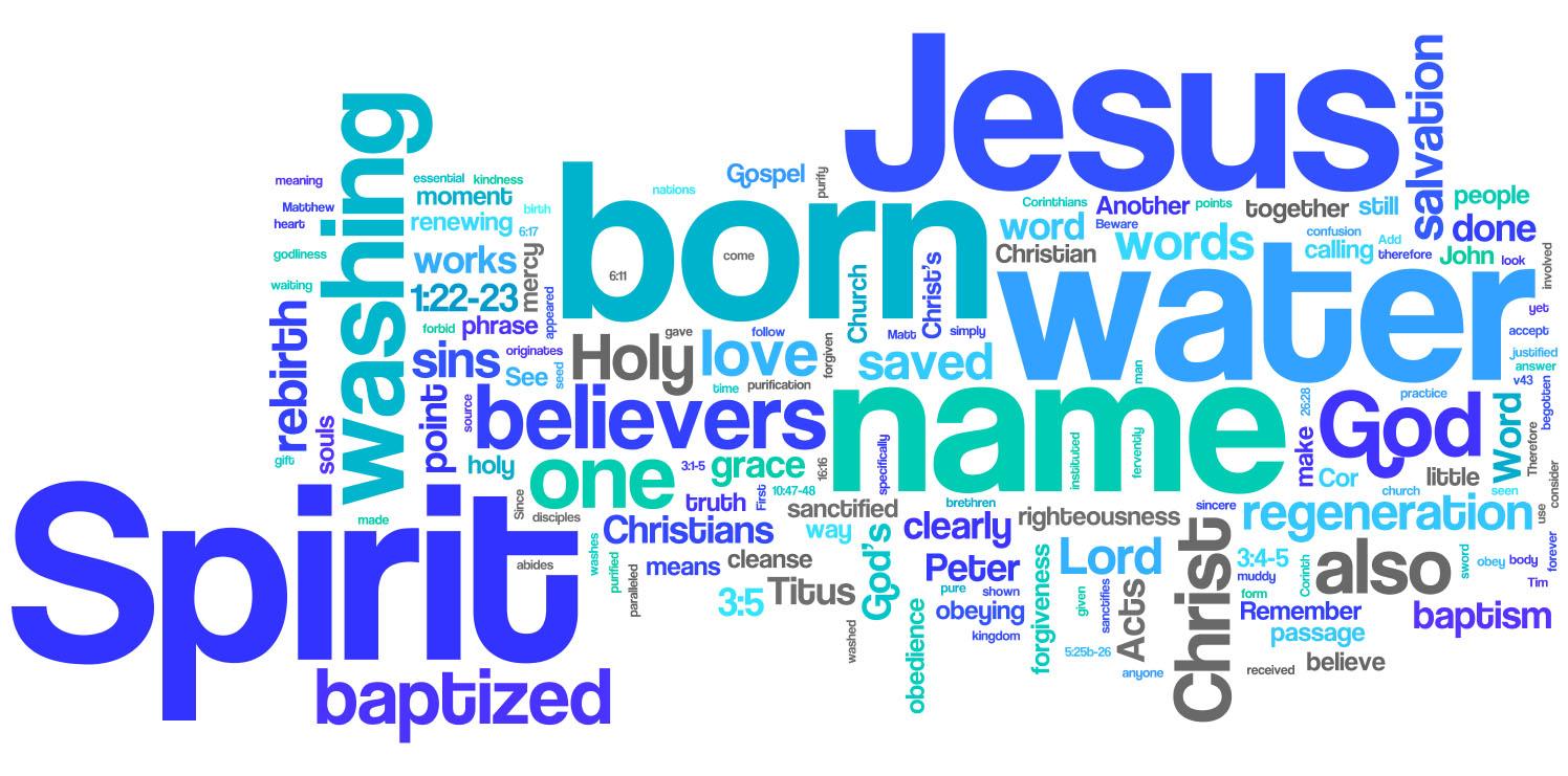 CCOB Winter Baptism (1/26)