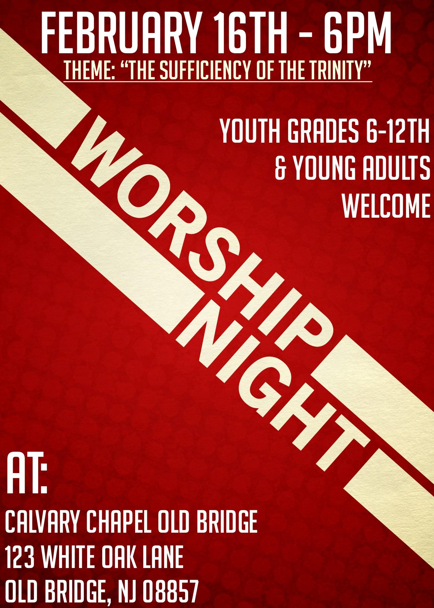 Youth Night of Worship (2/16)