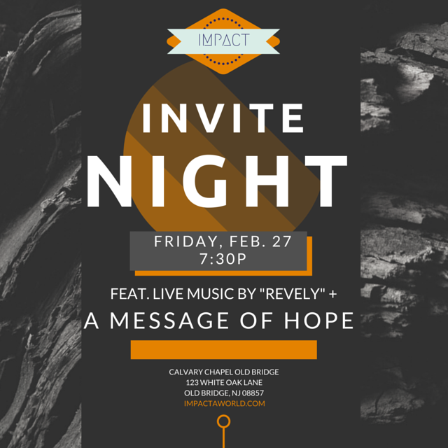 Youth Pastor Church Nite: INVITE NIGHT Feat. REVELY (Feb. 27)